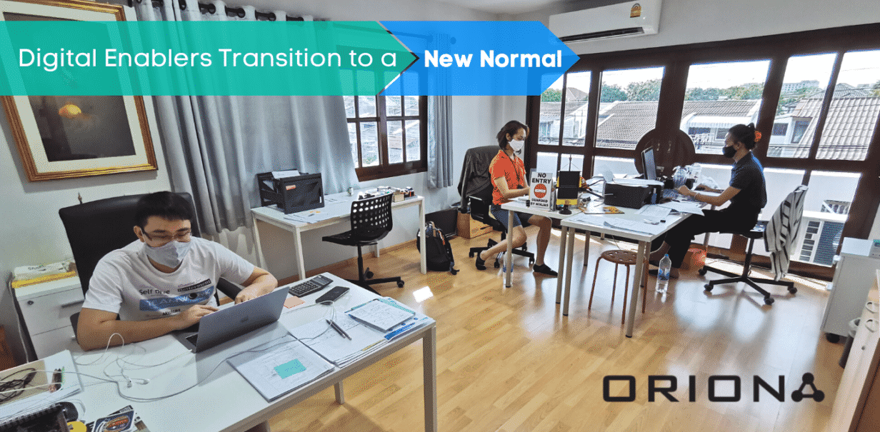 Digital Enablers Transition to a New Normal